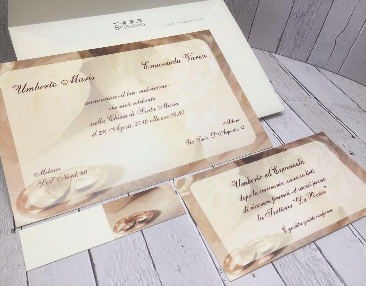 Partecipazioni Matrimonio Varese.Inviti Matrimonio Con Fedi