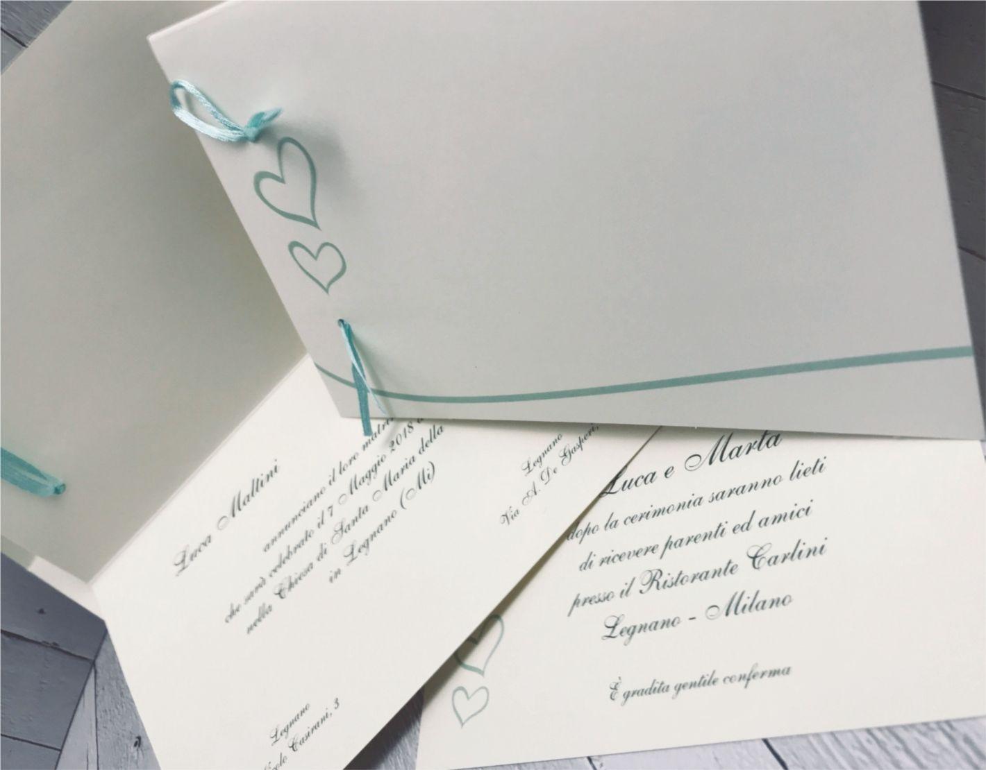 Partecipazioni Matrimonio Tiffany On Line.Partecipazioni Nozze Verde Tiffany