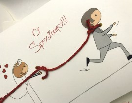 Partecipazioni Matrimonio Umoristiche.Partecipazioni Nozze Comics