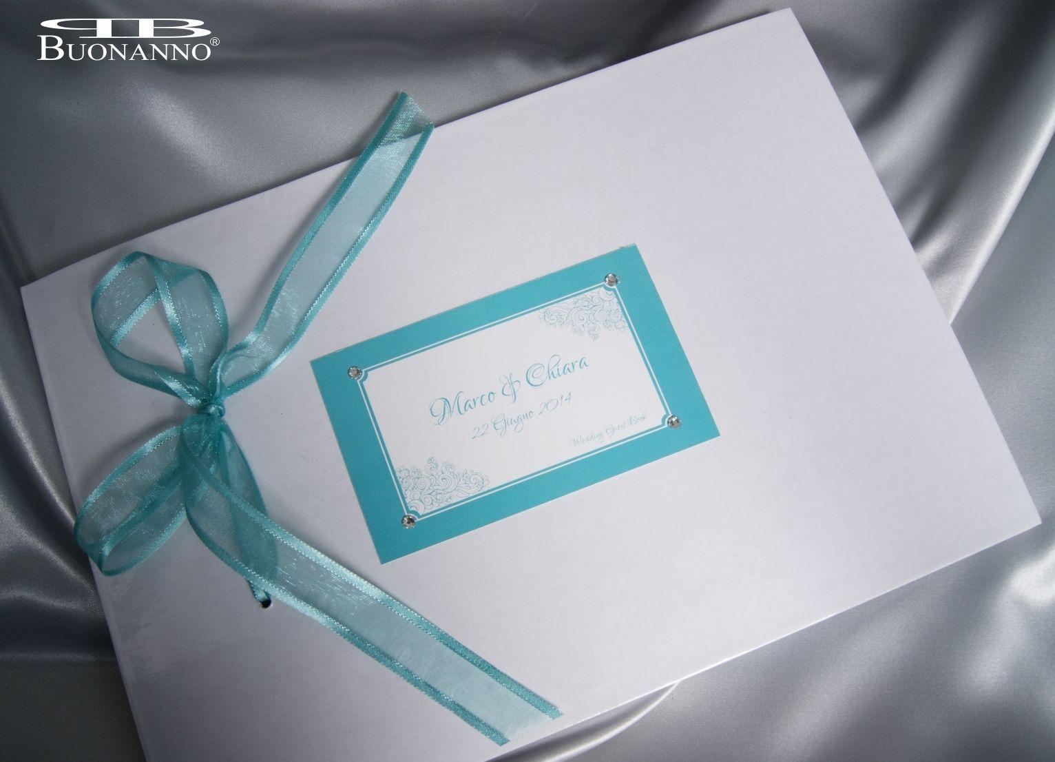 Matrimonio In Verde Tiffany : Guestbook cerimonia